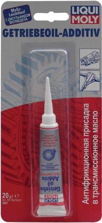 Присадка в трансмиссионное масло LiquiMoly Getriebeoil-Additiv (антифрикционная) 3967 антифрикционная присадка в трансмиссионное масло 0 02кг liqui moly getriebeoil additiv 3967