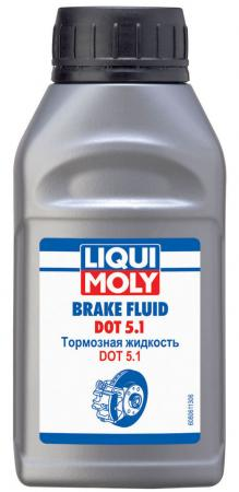 Тормозная жидкость LiquiMoly Brake Fluid DOT 5.1 (0,25л) 8061 motul dot 5 1 brake fluid