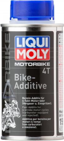 Присадка для очистки топливной системы LiquiMoly 4-тактных двигателей Motorbike 4T-Bike-Additiv 1581
