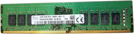 Оперативная память 16Gb PC4-21300 2666MHz DDR4 DIMM Hynix HMA82GU6CJR8N-VKN0 оперативная память dimm ddr2 1gb pc2 6400 800mhz hynix