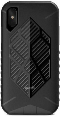 Накладка Moshi Talos для iPhone X чёрный 99MO086041 накладка vipe color для iphone x чёрный vpipxcolblk