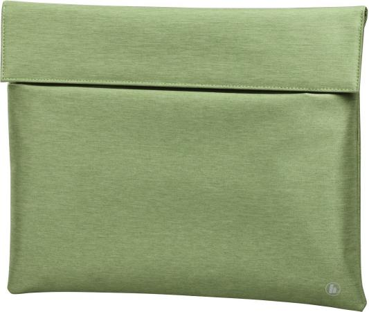 Чехол для ноутбука 13.3 HAMA Slide ткань зеленый 00101732 чехол для ноутбука 15 6 hama slide ткань черный 00101733