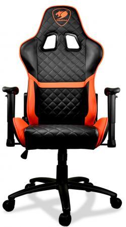 Кресло компьютерное игровое Cougar Armor One черный оранжевый игровое кресло cougar fusion cu fusbl черный