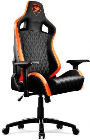 Кресло компьютерное игровое Cougar Armor S черный оранжевый кресло игровое vertagear racing s line sl2000 розовый