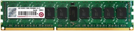 Оперативная память Transcend 4GB DDR3 1600 ECC-RDIMM 2Rx8 TS512MKR72V6N server memory for z400 z600 z8004g 2rx8 ddr3 1600 ecc one year warranty