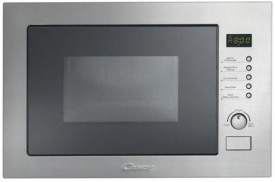 Встраиваемая микроволновая печь Candy MIC 25 GDFX 900 Вт серебристый микроволновая печь bbk 23mws 927m w 900 вт белый