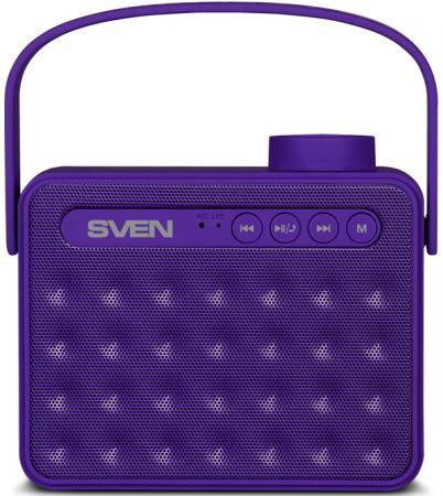 Портативная акустика Sven PS-72 6Вт Bluetooth фиолетовый
