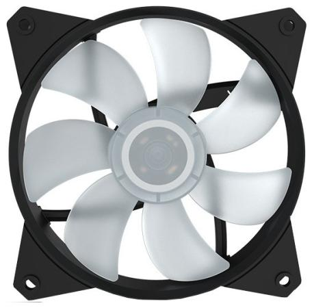 Вентилятор Cooler Master MF121L RGB LED Fan R4-C1DS-12FC-R2 120x120x25mm 1200rpm universal silver 30 row transmission 10an oil cooler kit 7 inch electric fan