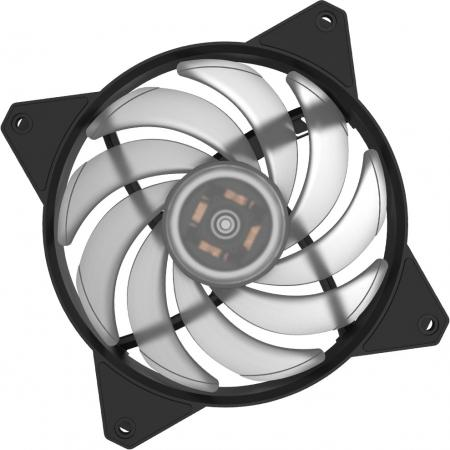 Вентилятор Cooler Master MF120R RGB LED Fan R4-C1DS-20PC-R1 120x120x25mm 650-2000rpm вентилятор cooler master mf200r rgb led fan r4 200r 08fc r1 200x200x25mm 800rpm