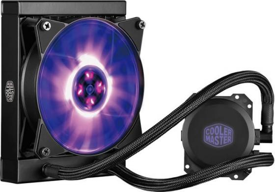 Водяное охлаждение Cooler Master MasterLiquid ML120L RGB MLW-D12M-A20PC-R1 Socket 775/1150/1151/1155/1156/2066/1356/1366/2011/2011-3/AM2/AM2+/AM3/AM3+/FM1/AM4/FM2/FM2+