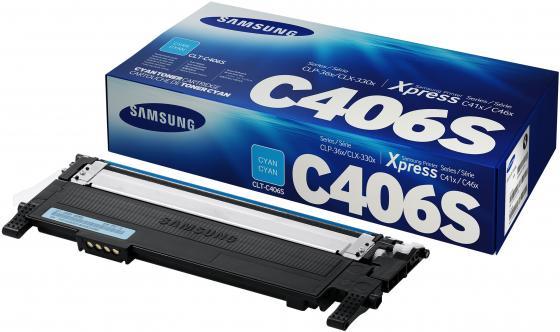 Картридж Samsung ST986A CLT-C406S для CLP-360 365 365W голубой тонер картридж samsung clt k406s 360 365 365w