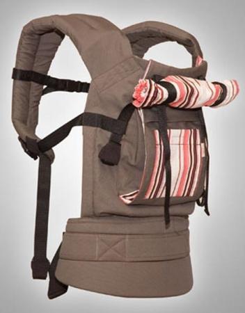 Слинг-рюкзак Brevi Актив (бежевый) brevi стульчик для кормления convivio brevi св серый лисички