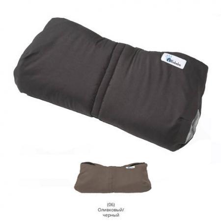 Муфта для рук Altabebe Alpin (AL2800P/olive-black) altabebe altabebe конверт в коляску зимний lambskin car seat bag бежевый
