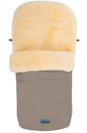 Зимний конверт Altabebe Lambskin-Footmuff (MT2200-LP/beige 61) altabebe altabebe конверт в коляску зимний lambskin footmuff синий