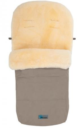 Зимний конверт Altabebe Lambskin-Footmuff (MT2200-LP/beige 61) altabebe altabebe конверт в коляску зимний lambskin bugaboo footmuff оливковый
