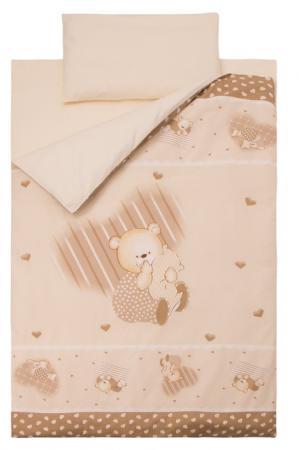Комплект постельного белья Золотой Гусь Мишутка (бежевый) комплект в кроватку золотой гусь мишка царь бежевый