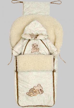 Конверт-одеяло Bombus Мими карман на кроватку bombus светик розовый