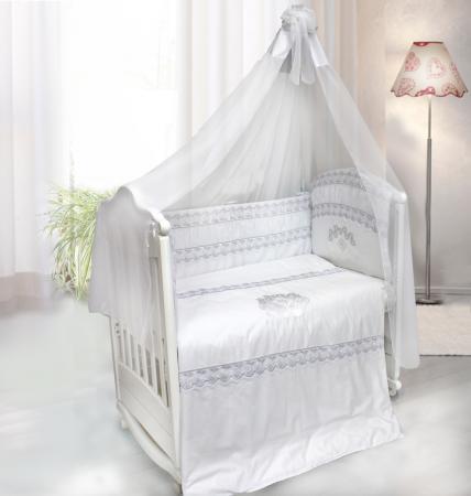 Постельный сет 7 предметов Labeillebaby Инфанта (белый) постельный сет 7 предметов labeillebaby инфанта белый