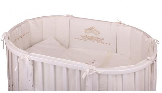 Постельный сет 6 предметов в люльку Nuovita Prestigio (rosa) комплекты в кроватку nuovita prestigio atlante 6 предметов