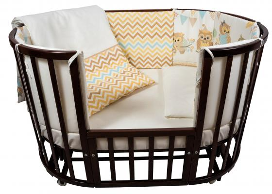 Постельный сет 6 предметов в кроватку Nuovita Gufi (beige) free shipping ep2c8q208c8n qfp ic 5pcslot