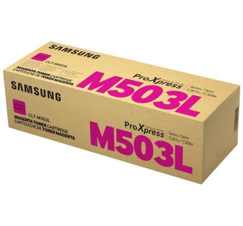 Фото - Картридж Samsung SU283A CLT-M503L для SL-C3060FR пурпурный фотобарабан hp samsung ss673a clt r804 для sl x3280nr цветной