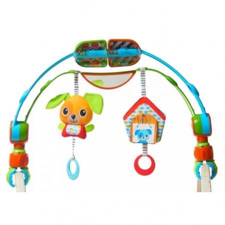 Дуга-мобиль в коляску/автокресло для ручек и ножек Tiny Love tiny love дуга с подвесками радуга tiny love