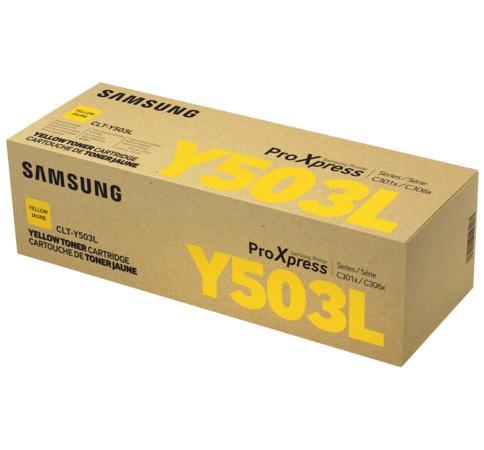 Картридж Samsung SU493A CLT-Y503L для SL-C3060FR желтый