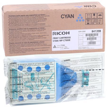Картридж Ricoh MP C7500E для Ricoh Aficio MP C6000, Ricoh Aficio MP C7500 голубой 841397 842072