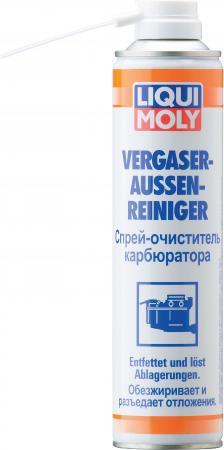 Очиститель карбюратора LiquiMoly Vergaser-Aussen-Reiniger 3918 спрей очиститель карбюратора 0 4л liqui moly vergaser aussen reiniger 3918