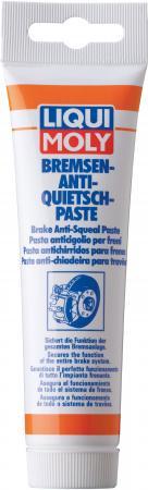 Синтетическая смазка для тормозной системы LiquiMoly Bremsen-Anti-Quietsch-Paste 3077 синтетическая смазка для тормозной системы 0 05л liqui moly bremsen anti quietsch spray 7573