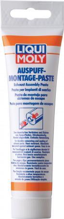 Паста монтажная LiquiMoly Auspuff-Montage-Paste (для системы выхлопа) 3342 бандаж для ремонта системы выхлопа liqui moly auspuff bandage gebrauchsfertig 3344