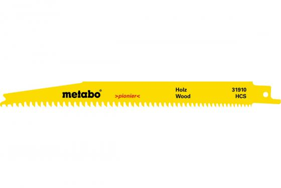Пилка Metabo S2345XF HCS 200/1.25мм 2шт 631910000