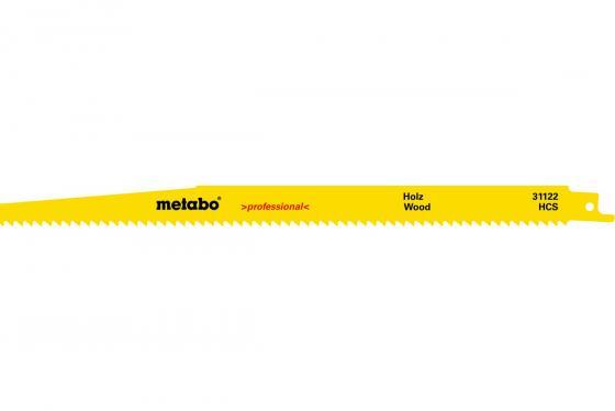 Пилка Metabo S1344D HCS 300x1.25/4 мм дерево 2шт 631122000