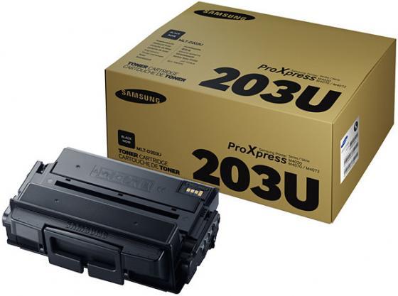 Картридж Samsung SU917A MLT-D203U для Samsung SL-M4020/4070 черный 15000стр картридж samsung mlt d203 для sl m4020 4070 mlt d203u see черный 15000стр