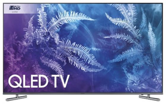 Телевизор LED 55 Samsung QE55Q6FAMUXRU титан 3840x2160 60 Гц Smart TV Wi-Fi RJ-45 Bluetooth WiDi телевизор led 43 tcl led43d2930us черный 3840x2160 60 гц wi fi smart tv vga rj 45 bluetooth