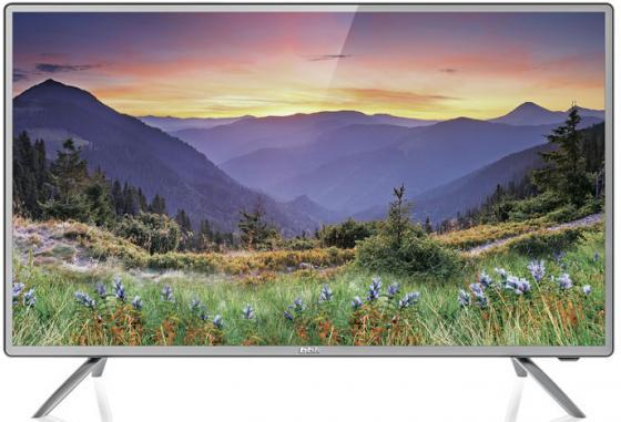 """Телевизор 50"""" BBK 50LEM-1042/FTS2C черный серебристый 1920x1080 50 Гц VGA USB"""