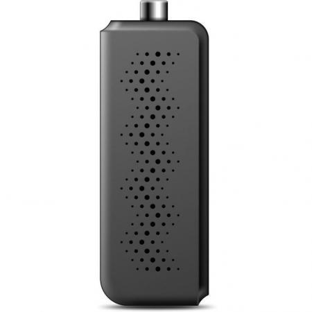 Тюнер цифровой DVB-T2 Hyundai H-DVB320 черный тюнер цифровой dvb t2 hyundai h dvb160 черный