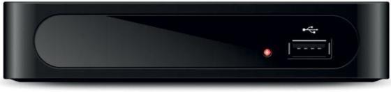 Тюнер цифровой DVB-T2 Hyundai H-DVB180 черный тюнер цифровой dvb t2 hyundai h dvb160 черный