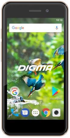 """Смартфон Digma LINX A450 3G золотистый 4.5"""" 8 Гб Wi-Fi GPS LT4038PG"""