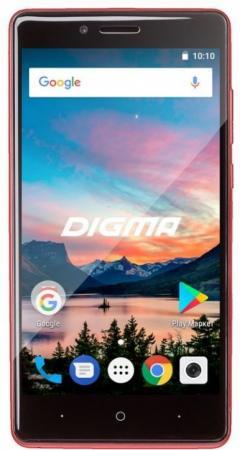 Смартфон Digma HIT Q500 3G красный 5 8 Гб Wi-Fi GPS 3G смартфон digma q500 3g hit красный