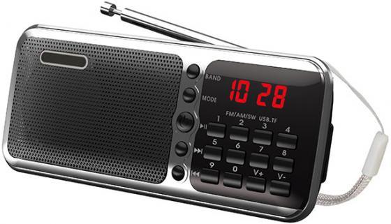 Радиоприемник Сигнал РП-226 черный/серебристый радиоприемник сигнал cr 169 черный
