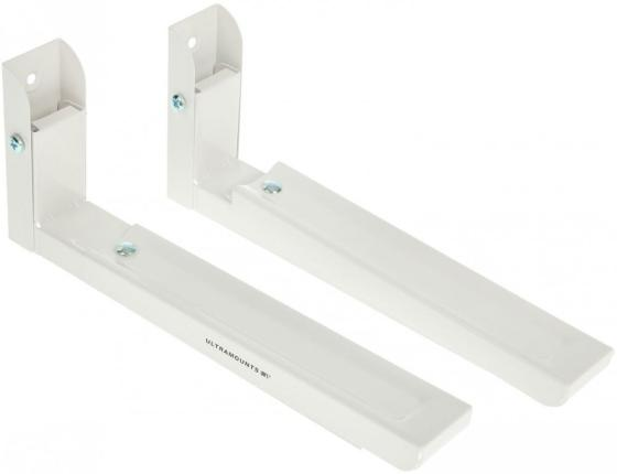 Кронштейн для СВЧ-печей Ultramounts UM 888W белый макс.30кг настенный фиксированный кронштейн для свч печей vobix vx 40 белый
