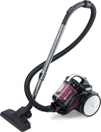 Пылесос KITFORT KT-522-1 сухая уборка красный чёрный пылесос kitfort кт 522 1 красный черный