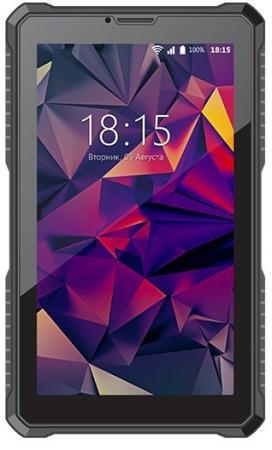 Планшет BQ BQ-7082G Armor 7 8Gb синий рисунок Wi-Fi 3G Bluetooth Android Print04 планшет tesla neon color 7 0 3g 7 8gb синий wi fi 3g android neon 7 0 3g