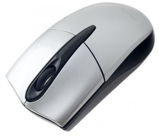 Мышь беспроводная Perfeo Forum PF-956 серебристый USB + радиоканал