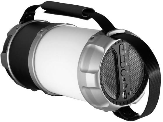 Портативная акустика Ginzzu GM-889B черный ginzzu s5050