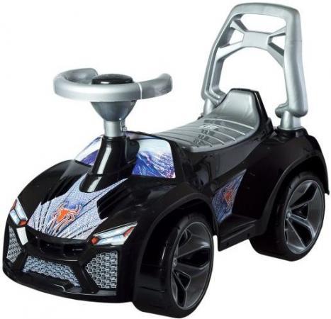 Машина-каталка Ламбо Чёрный Паук машина orion toys камакс автокран 238