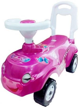 Машина-каталка Микрокар розовая quelle aniston 757766