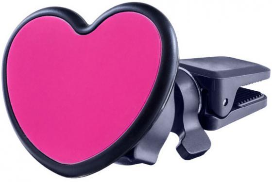 Автомобильный держатель Perfeo PH-518-Love до 6.5 на воздуховод магнитный черный красный