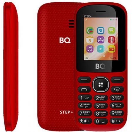 Мобильный телефон BQ BQ-1807 Step+ красный 1.77 64 Мб bq24745 bq 24745